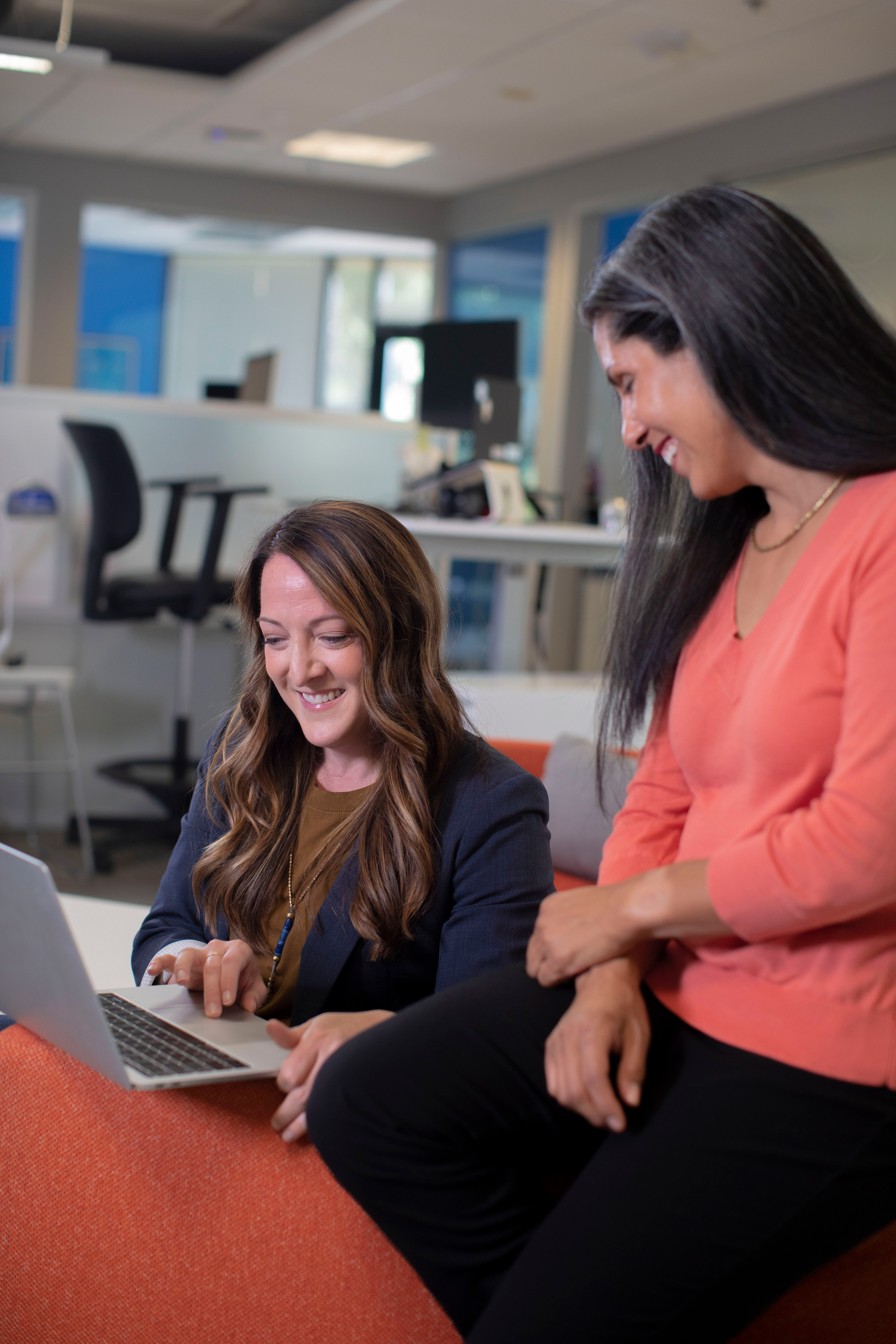Co-workers Laughing from hire